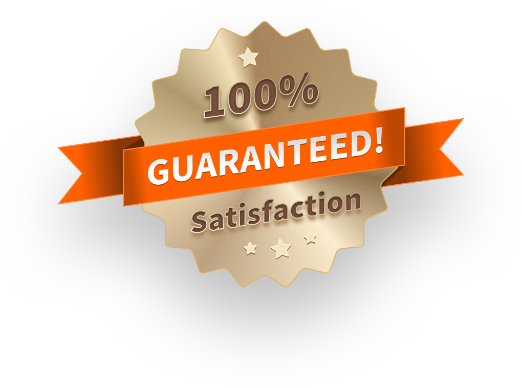 100% guaranted satisfaction